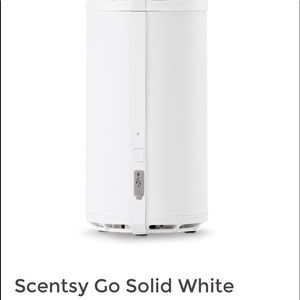Scentsy Go Solid White